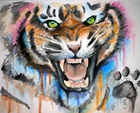 Tigre Acuarela